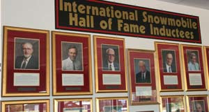Inductees to the International Snowmobile Hall of Fame (ISHOF) in Eagle River, Wisconsin